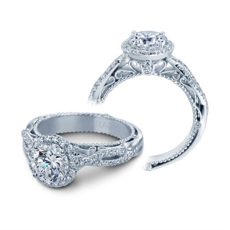 Engagement Ring 001 100 00631 Halo From Barnes Jewelers
