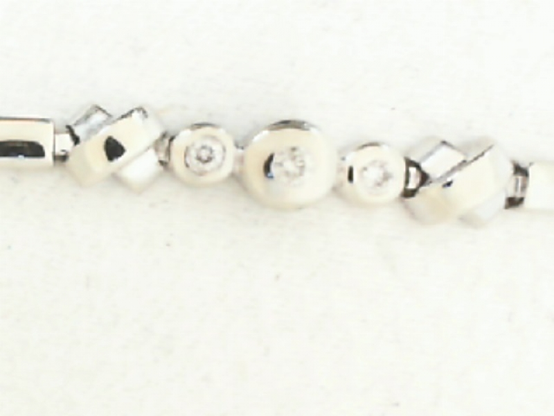 Estate & Vintage Jewelry - ESTATE DIAMOND BRACELET - image 2